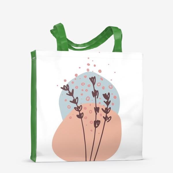 Сумка-шоппер «Цветы абстракция 2»