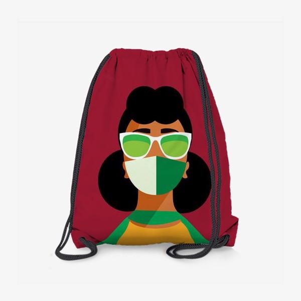 Рюкзак «девушка в маске»