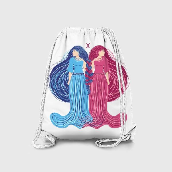 Рюкзак «Знак зодиака Близнецы »