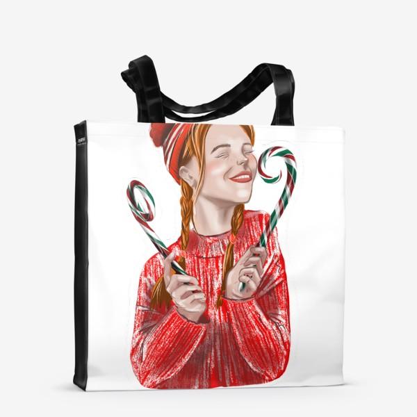 Сумка-шоппер «Веселье на рождество»