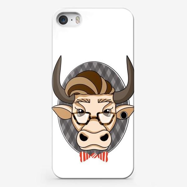 Чехол iPhone «Год быка. Без текста.»