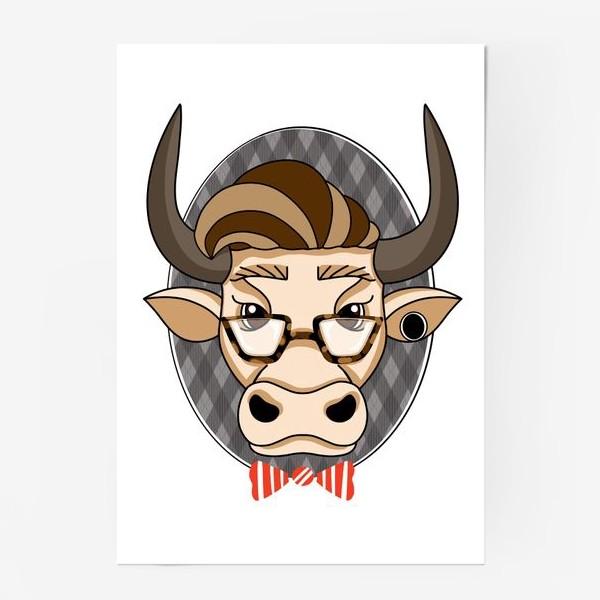 Постер «Год быка. Без текста.»