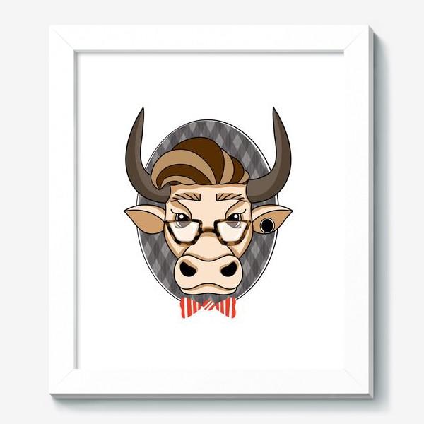 Картина «Год быка. Без текста.»