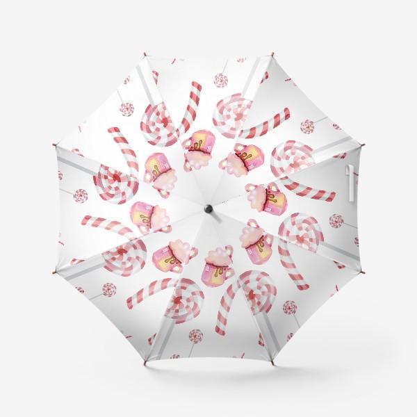 Зонт «Сладости на Новый год»