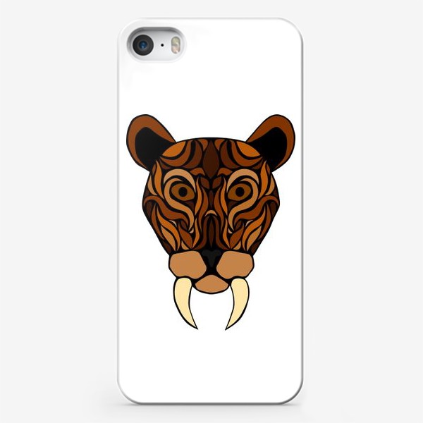 Чехол iPhone «Саблезубый»