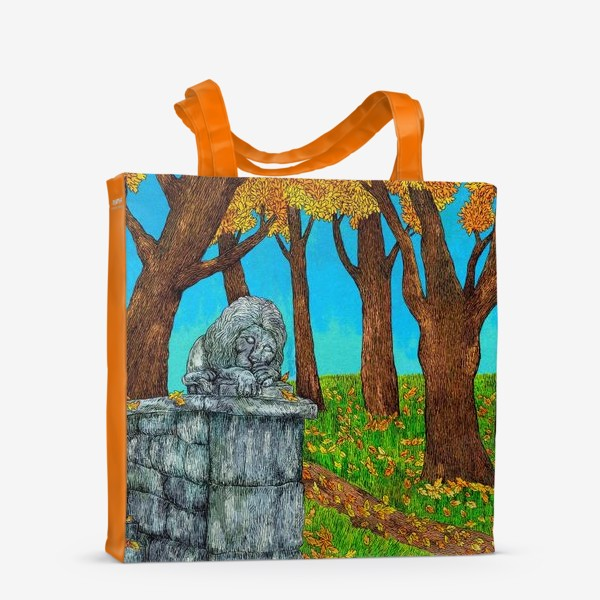 Сумка-шоппер «Осень в парке»