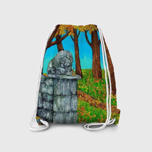 Рюкзак «Осень в парке»