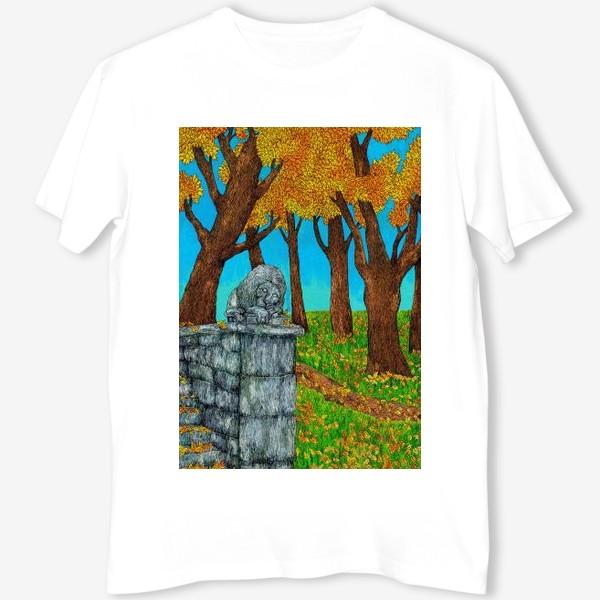 Футболка «Осень в парке»