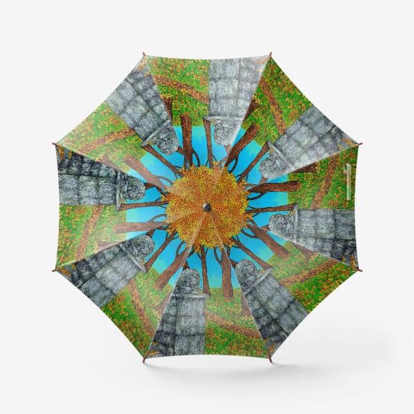 Зонт «Осень в парке»
