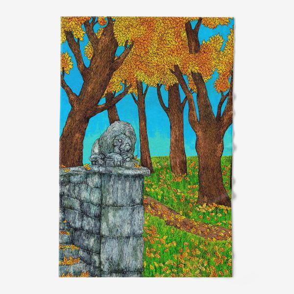 Полотенце «Осень в парке»