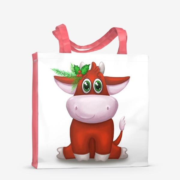 Сумка-шоппер «Красный бык»