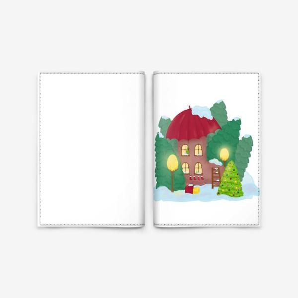 Обложка для паспорта «Сказочный домик»