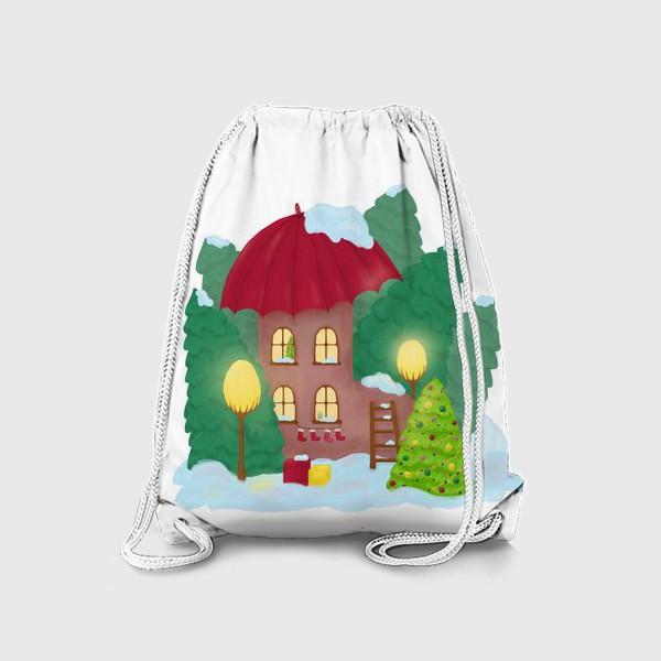 Рюкзак «Сказочный домик»