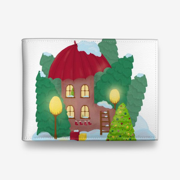 Кошелек «Сказочный домик»