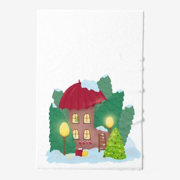 Полотенце «Сказочный домик»