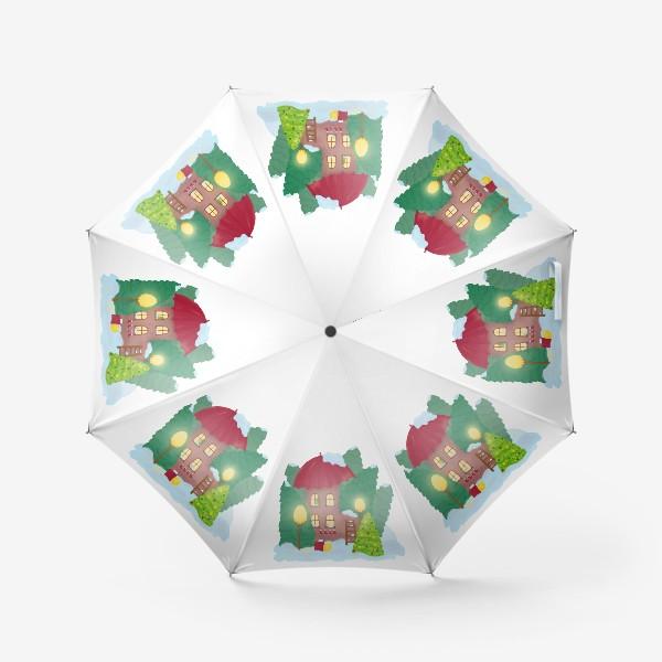 Зонт «Сказочный домик»