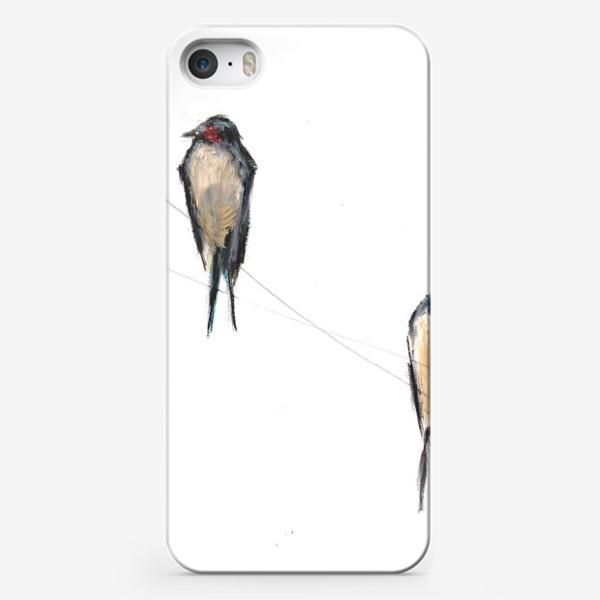 Чехол iPhone «Хрупкие птицы»