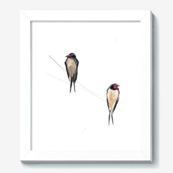 Картина «Хрупкие птицы»