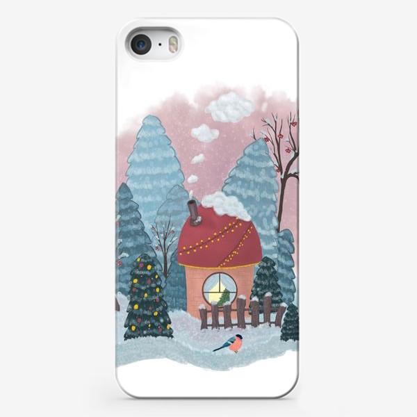 Чехол iPhone «Уютный лесной домик»