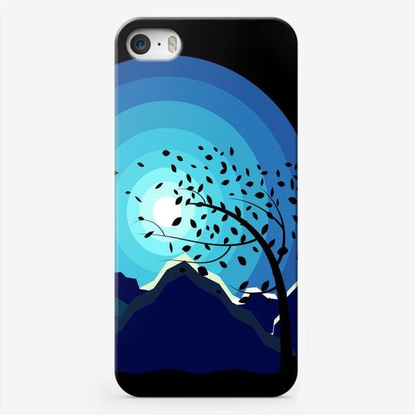 Чехол iPhone «Горный ветер»