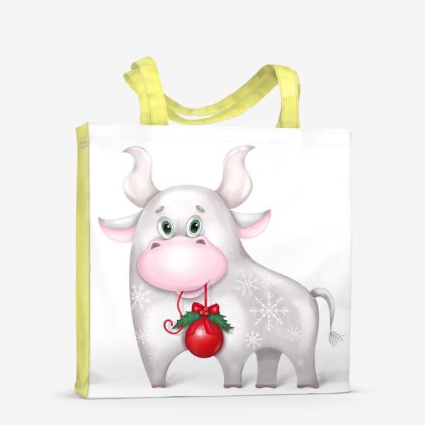 Сумка-шоппер «Металлический бык»