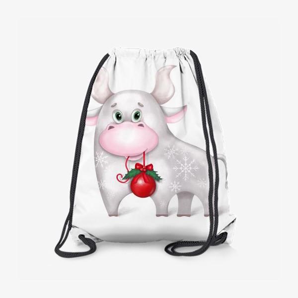 Рюкзак «Металлический бык»