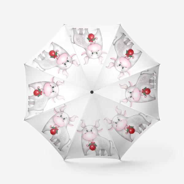 Зонт «Металлический бык»