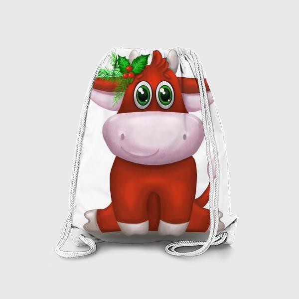 Рюкзак «Красный бык»