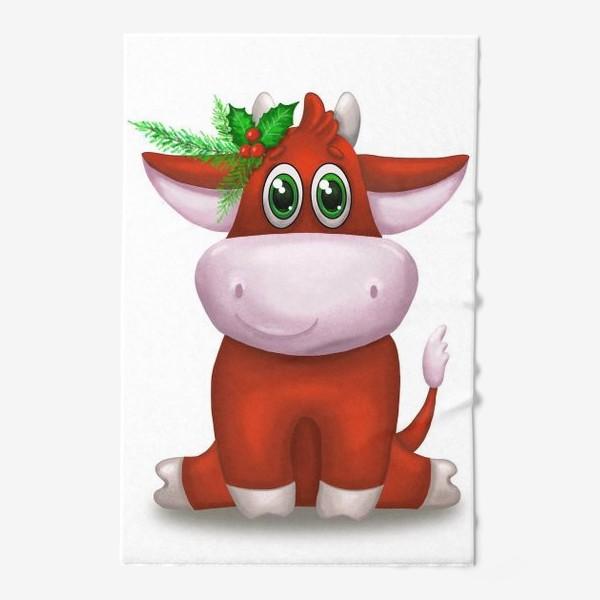 Полотенце «Красный бык»