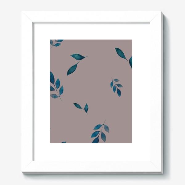 Картина «Акварельные листья »
