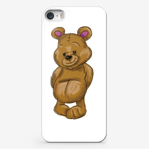 Чехол iPhone «  Плюшевый мишка»
