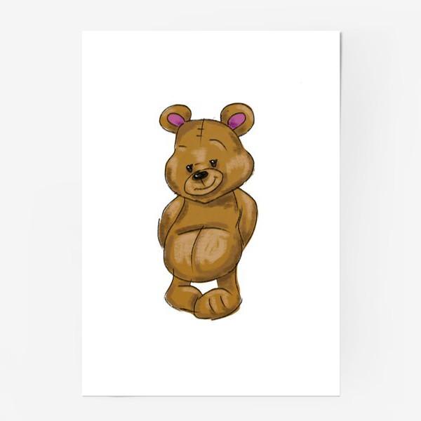Постер «  Плюшевый мишка»