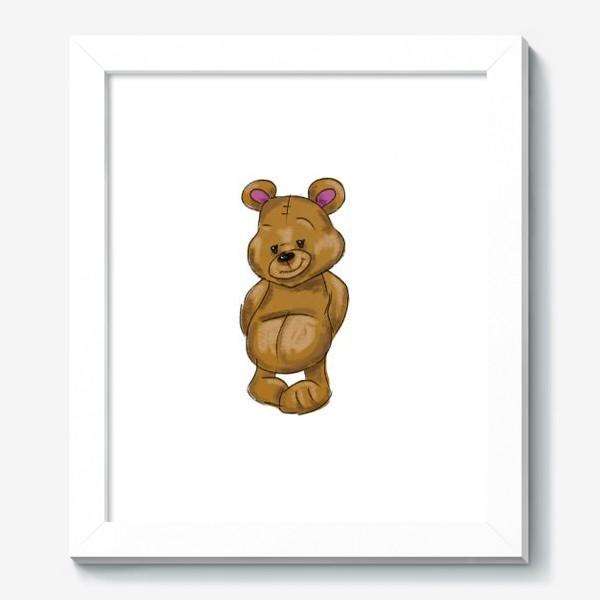 Картина «  Плюшевый мишка»