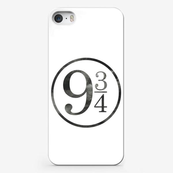 Чехол iPhone «Платформа 9 3/4. Гарри Поттер. Волшебство. Поезд. Хогвартс»
