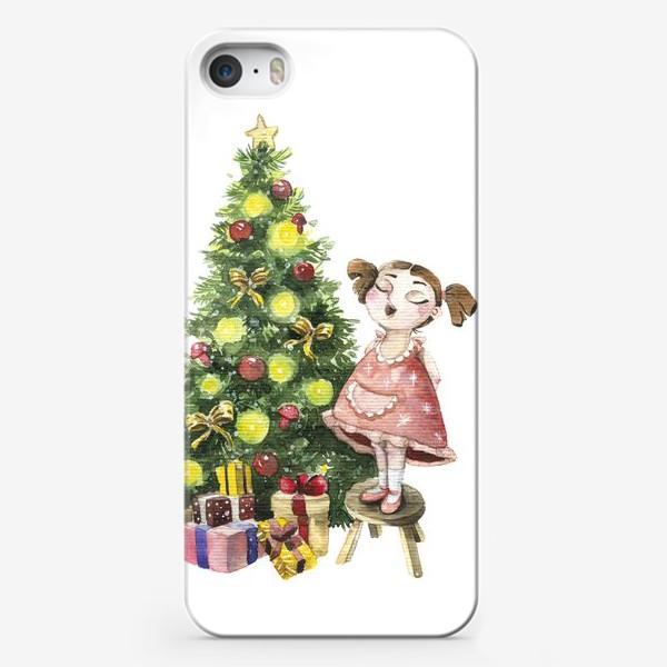 Чехол iPhone «Елка»