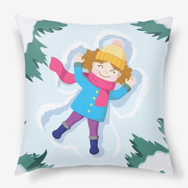 Подушка «Снежный ангел»