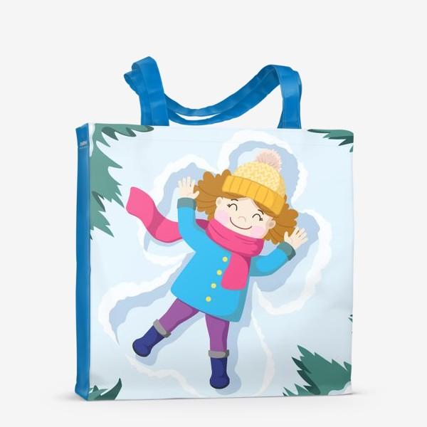 Сумка-шоппер «Снежный ангел»