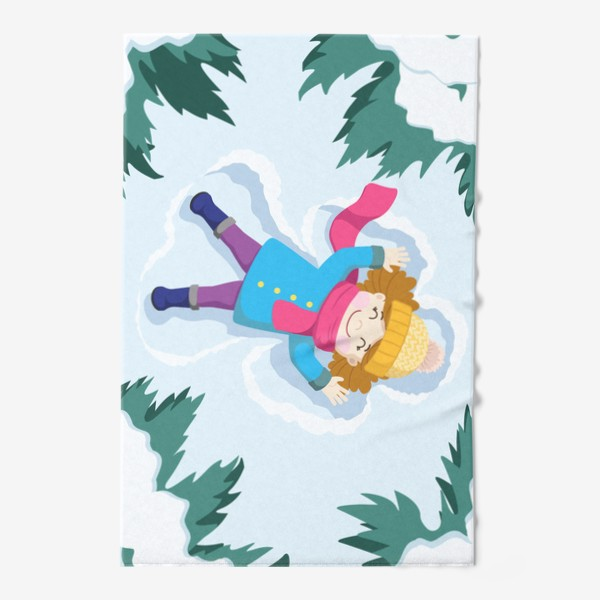 Полотенце «Снежный ангел»