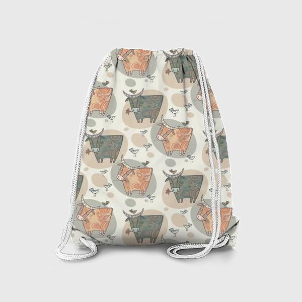 Рюкзак «Символ года 2021. Релакс. Паттерн.»