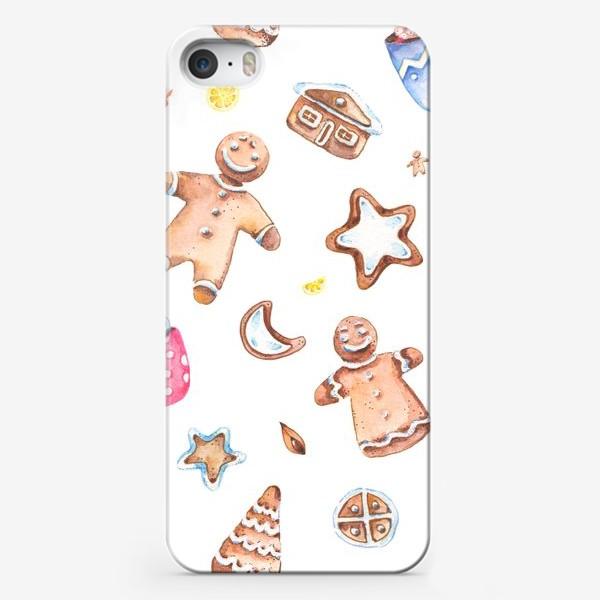 Чехол iPhone «Имбирное настроение»