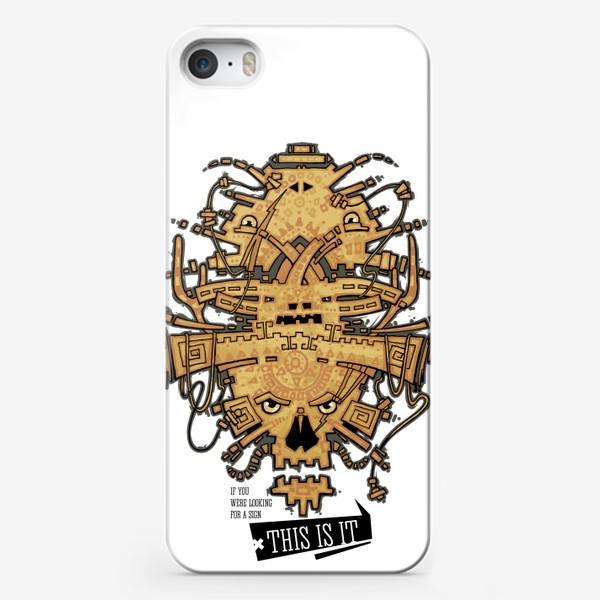 Чехол iPhone «Хипстер»