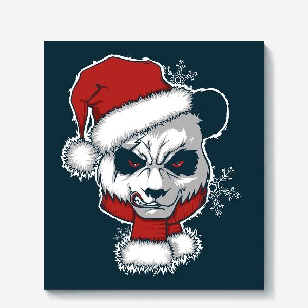 Холст «Angry panda»