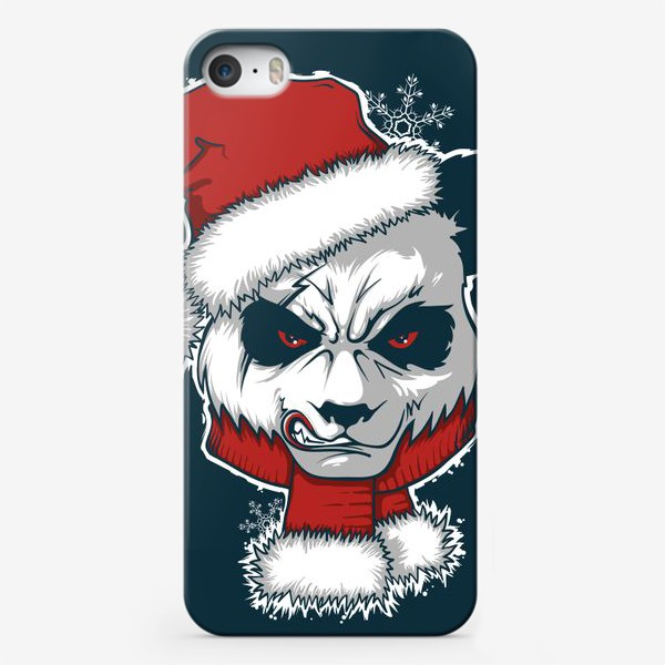 Чехол iPhone «Angry panda»