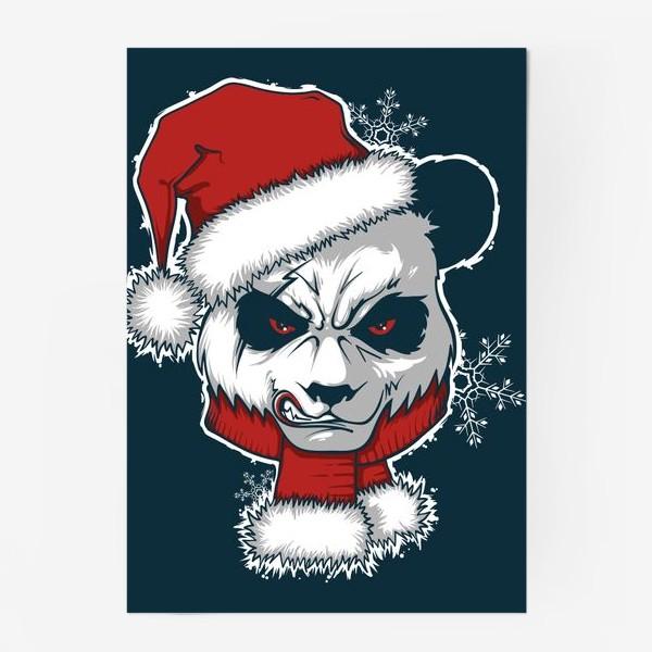 Постер «Angry panda»