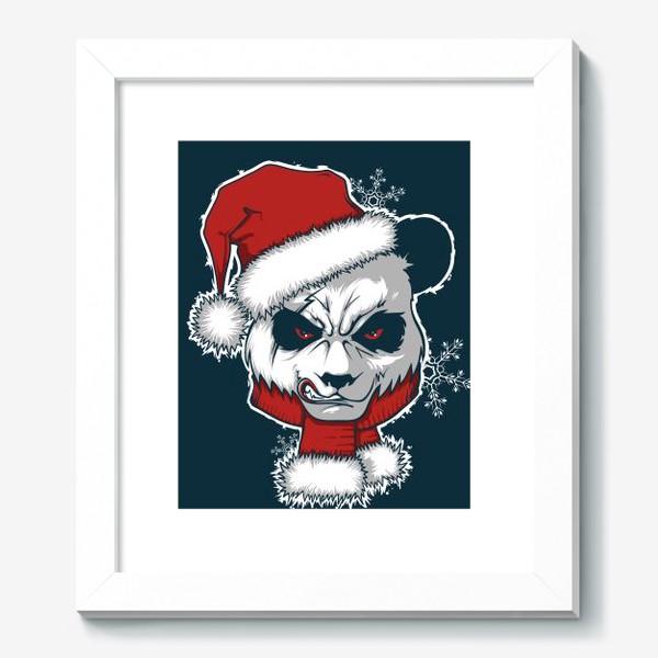 Картина «Angry panda»