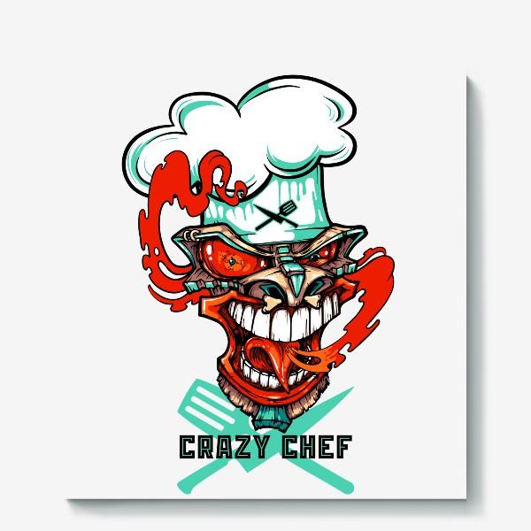 Холст «Tiki crazy shef»
