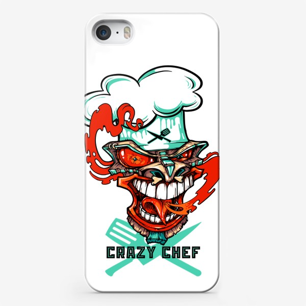 Чехол iPhone «Tiki crazy shef»