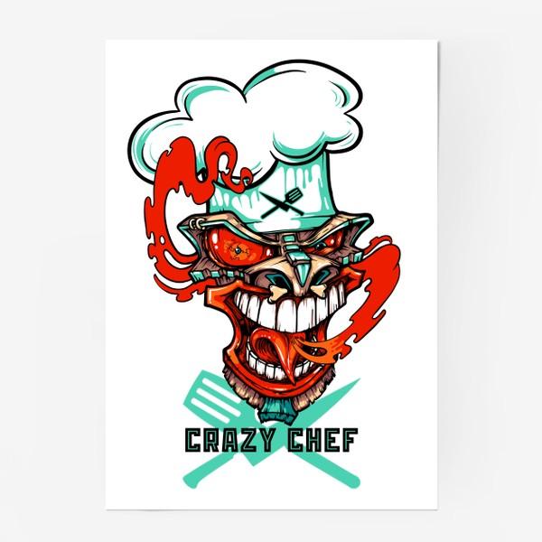 Постер «Tiki crazy shef»