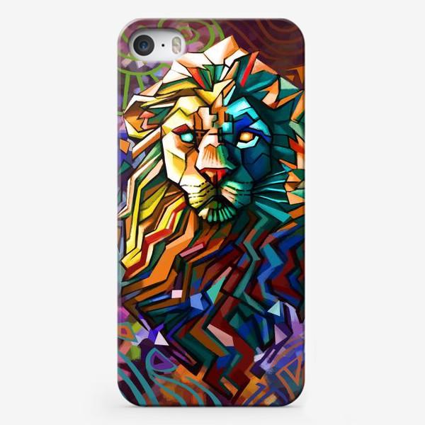 Чехол iPhone «знак зодиака лев»