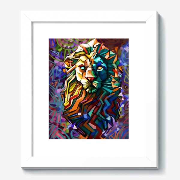 Картина «знак зодиака лев»